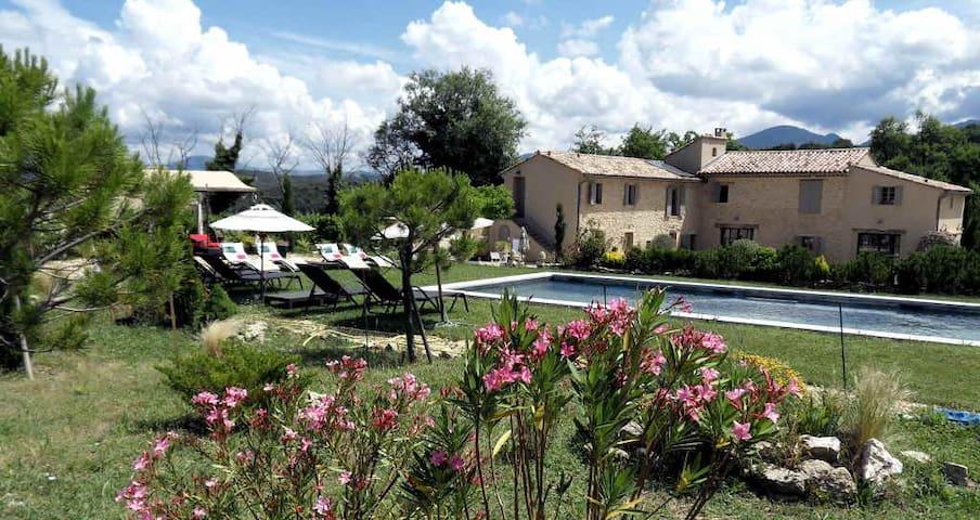 Charmant Mas Provençal Mont Ventoux - Malaucène