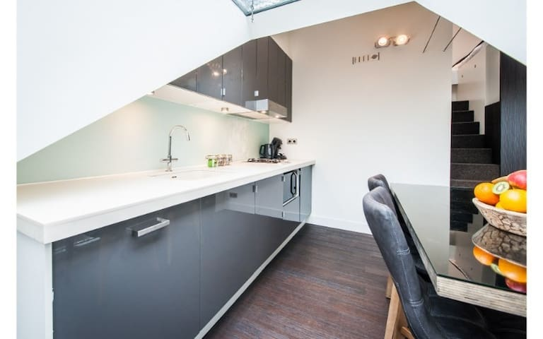 Rooftop Studio close to Oosterpark (2pax)