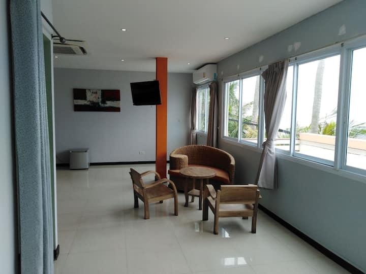 Grande chambre 2 avec balcon