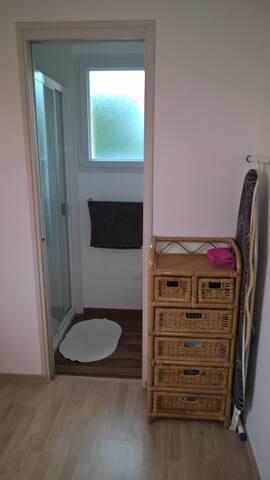 Chambre particulière avec SDB privée - Bourg-Blanc - House