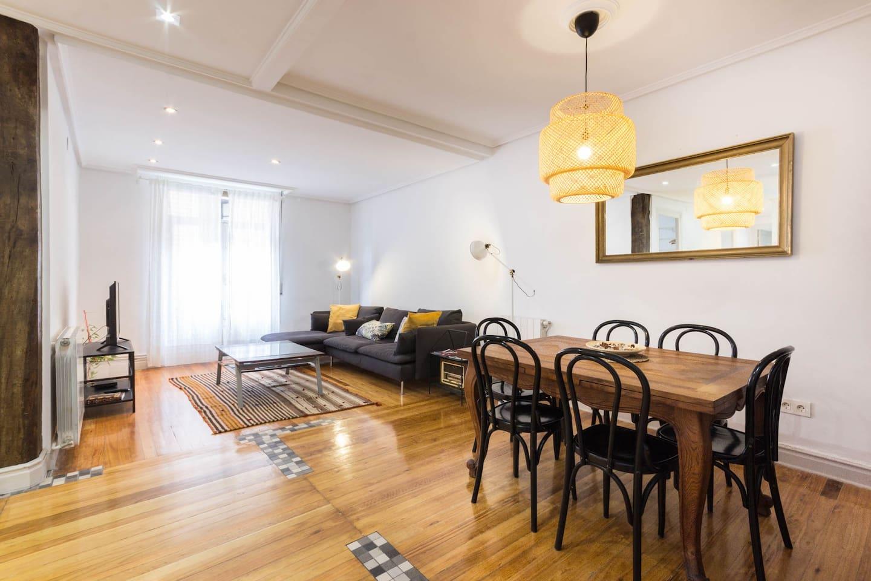 Salon comedor - Living dinning room