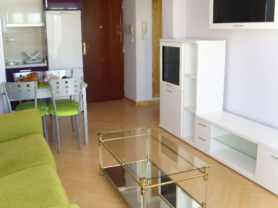 salón cocinita