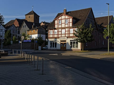 Haus Tintenklex - Wohnung  Gartenblick