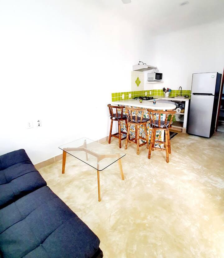 Sayulita Green apartment in Alma Mia buildibg