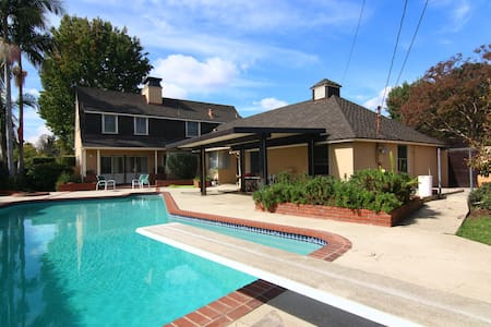Charming house with a pool - San Gabriel