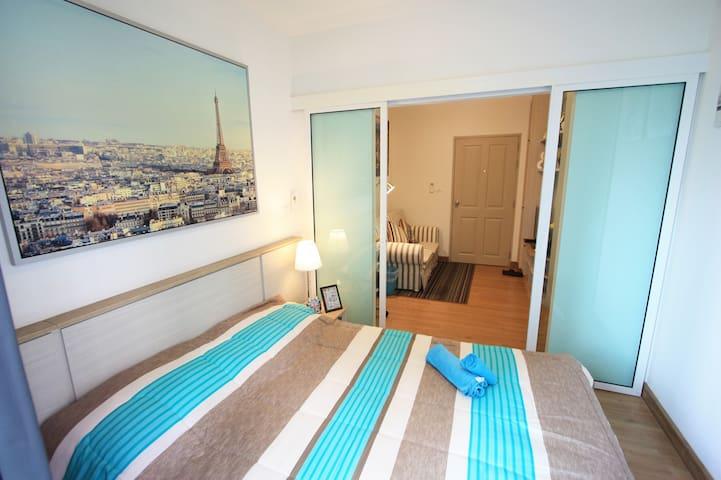 Comfy room, river view, best budget - Bangkok - Kondominium