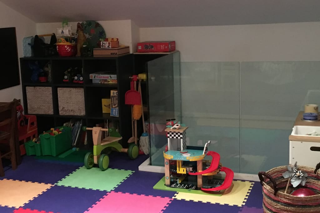The Play Area on the top floor in the open plan kitchen living room. Enjoy! (Or if you don't have children we'll make this as minimal as possible)