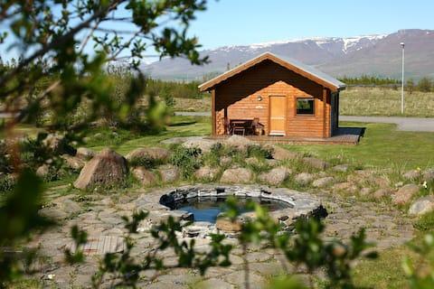 Warm and cosy private cottage in Varmahlíð - Hestasport Cottages