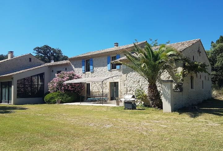 Gîte Maison Mas en Drôme Provençale - 9 pers.