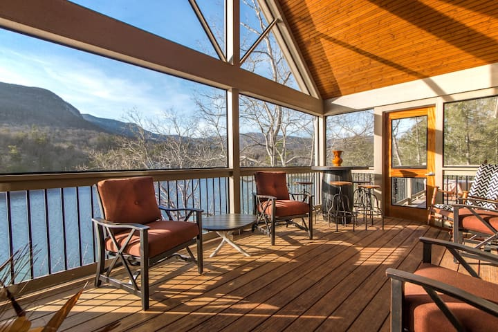 Over the Edge - Mr Lake Lure Vacation Rentals