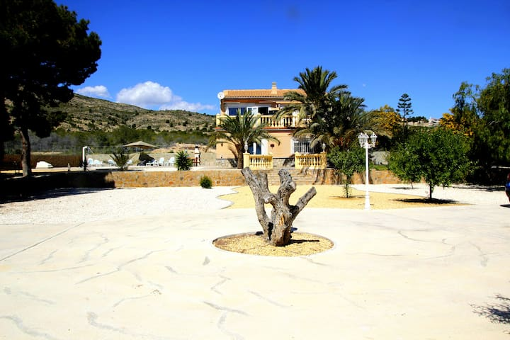 Apartment with PRIVATE POOL for you - Mutxamel - Villa