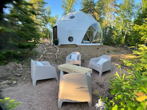 One-of-a-kind Geodesic Dome 🔆 Superior Views