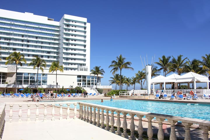 3 Studios for 12 guests, Oceanfront Building - Miami Beach - Hotel butique