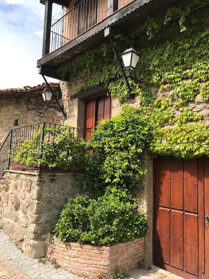 Casa con piscina, Peñacaballera, Sierra de Bejar.