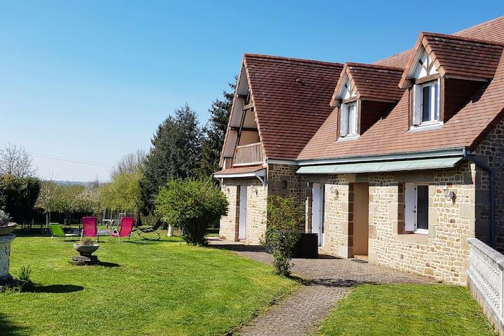 Maison familiale dans la baie du Mt St Michel