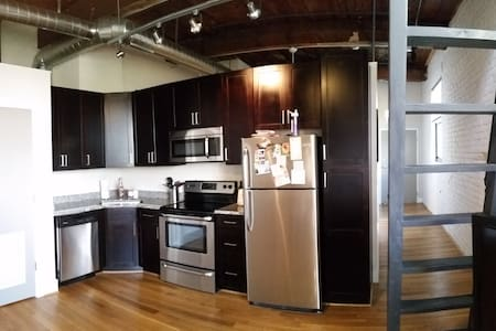 Modern loft in downtown Lynchburg - Lynchburg - Appartamento