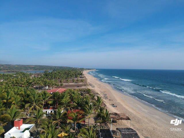 Casa KaaK Naab Hermosos Bungalows  Playa Ventura