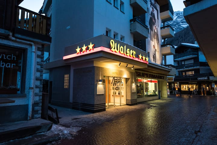 Hostel Walser - Saas-Fee - Huis