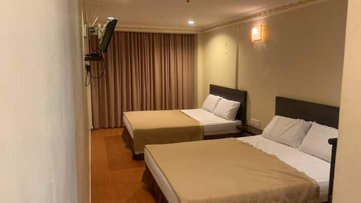 NEW & AFFORDABLE ROOMS for 25 Pax