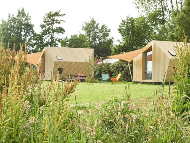 Glamping on cosy campsite Friesland