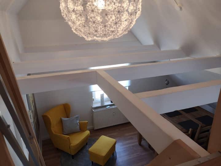 Top sanierte Wohnung im Dachgeschoss