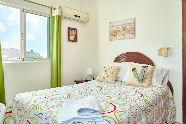 Room with Air Conditioner