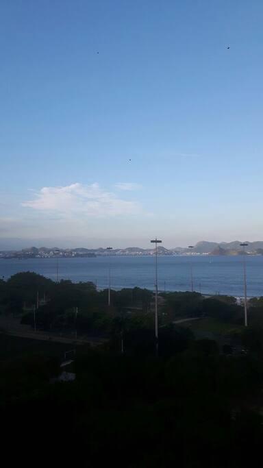 Vista da Baía de Guanabara
