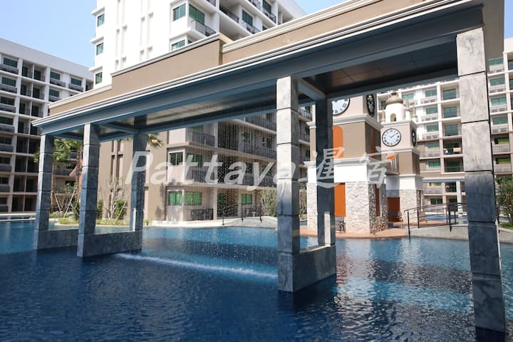 Arcadia Pattaya II, Pool View Holiday Apartment