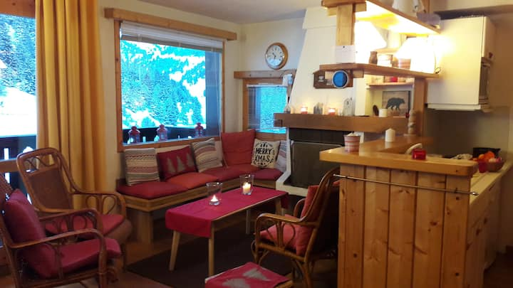 "Danish ""hygge"" in Meribel Mottaret!"