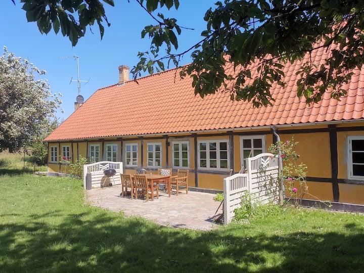 Idyl på Langeland Møllegården, helt hus 6 personer
