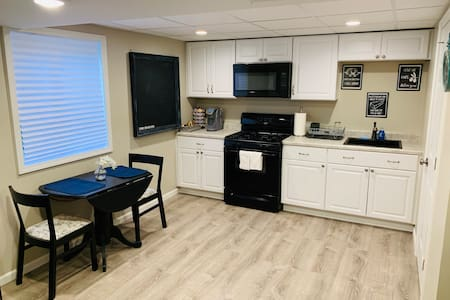 Large Furnished Basement With Full Kitchen