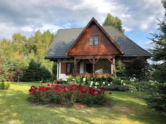 Dom w Gruszkach - Puszcza Białowieska
