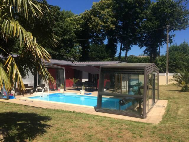 Maison avec piscine - Lesneven - Vila