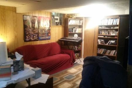 Private Sofa bed  /17 min Conv. Ctr - Indianapolis - House