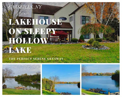 Lakehouse w/ Spectacular Views in the Catskills NY