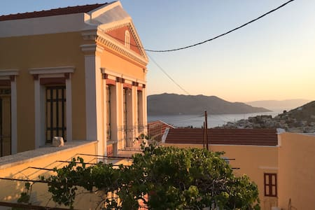 Private & Serene- Astounding Views at Prokos House - Ano Symi - Haus