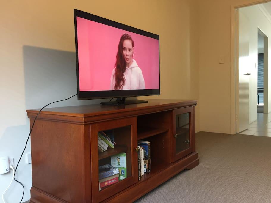 TV in the theatre room