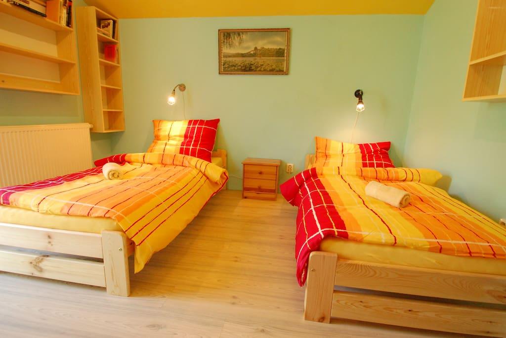 Ložnice 1 - Bedroom 1