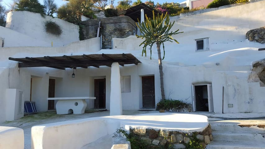 Villa con vista sul porto - Ponza - Rumah