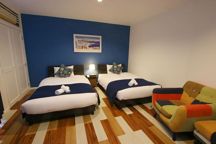 Cosy Vacation House★3BR/Wi-Fi/Relax/YOMITAN