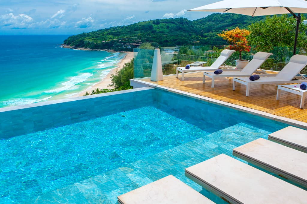 Villa Paradiso Naithon Beach Phuket - Swimming Pool