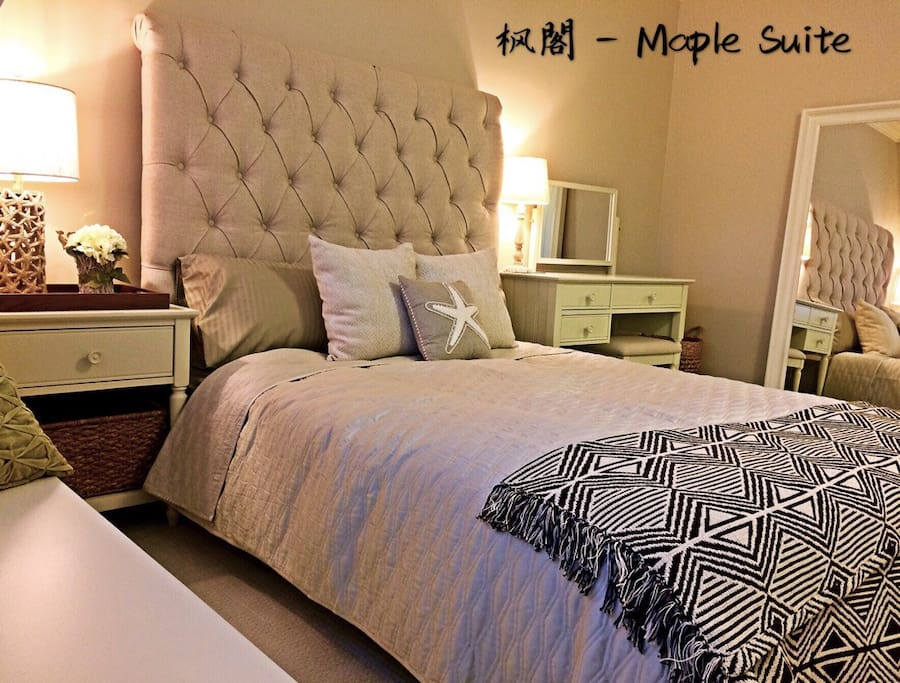 Maple Suite $130/per night