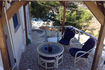 traditional house with great view in potamos! - Aegiali