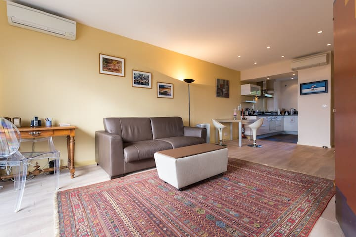 Apt plus Rooftop,15' de Croisette, vue ++ - Cannes - Appartement