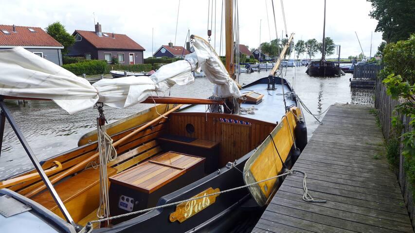 Unieke overnachting op zeilschouw - Elahuizen - Boat