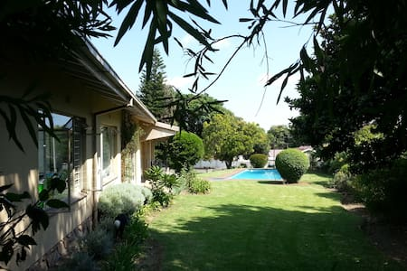 Private section of an awesome Bryanston house - Sandton
