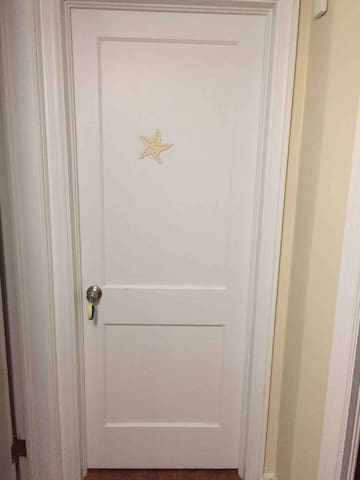 Door  with private key in the room!