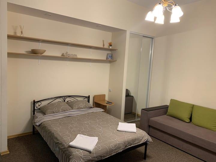 Уютная квартира -студия в центре столицы
