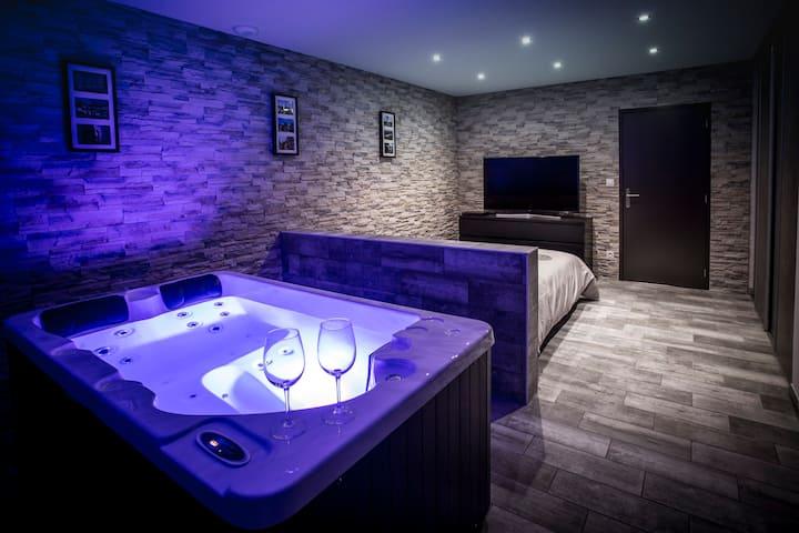 Loft avec spa privatif à 10 min de Dijon (VIP 1)