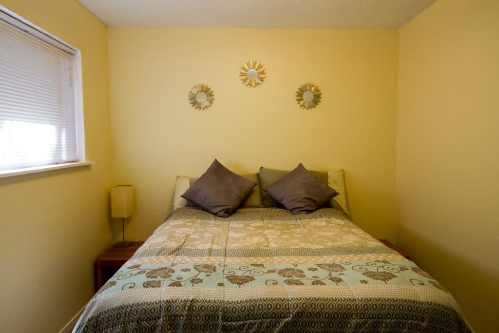 Your bedroom.